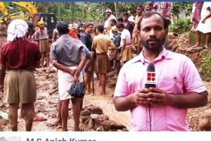 Official RSS Page Shares Old Image as Seva Bharati Workers Aiding Kerala Flood Relief