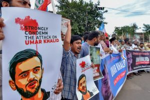 Police Searching for Two Men Who Claim Attack on Umar Khalid in Video