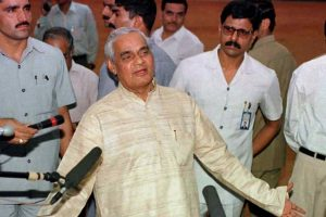 Vajpayee the 'Mukhota', Once and Always a Sangh Loyalist