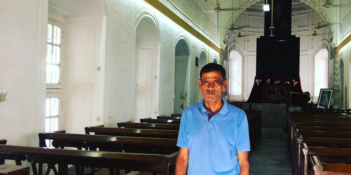 The Caretaker of an Armenian Church in Dhaka Whose Roots Lie in Gorakhpur