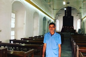 The Caretaker of an Armenian Church in Dhaka Whose Roots Lie in Gorakhpur