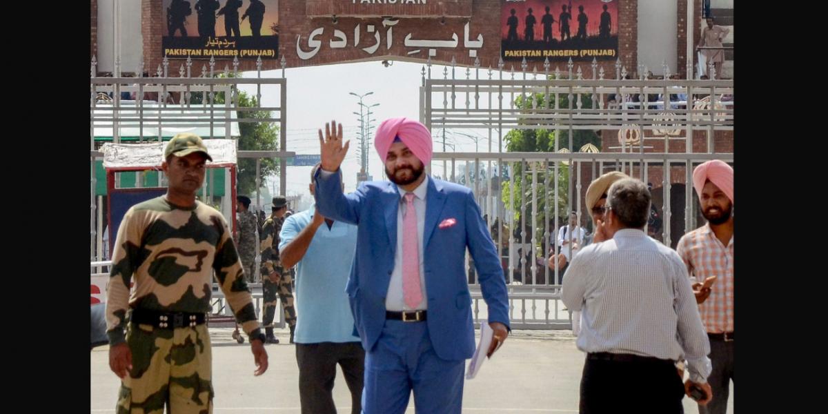 Imran Khan Defends Sidhu, Hails Him as an 'Ambassador of Peace'
