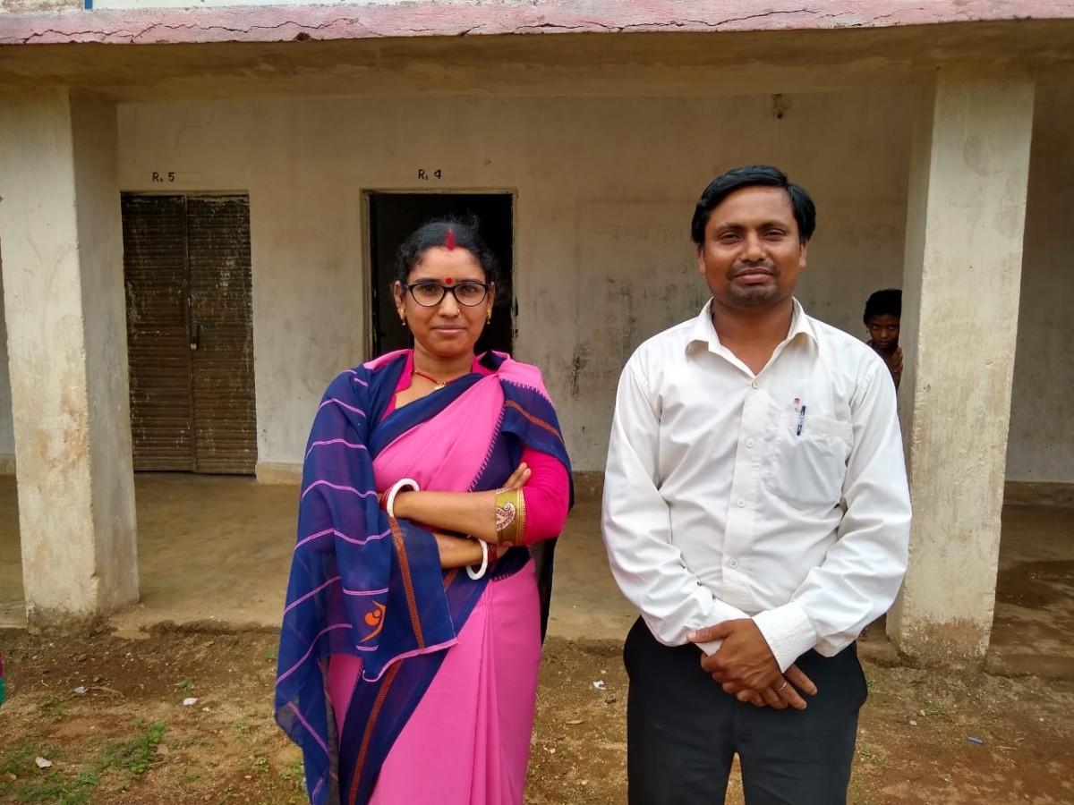 Krishna Kumar and Lilawati Devi.