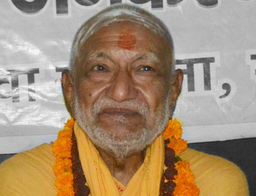 File photo of Swami Sanand. Credit: Nandanupadhyay/Wikimedia Commons CC BY-SA 3.0