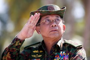 Facebook Bans Myanmar's Military Chief and Other Political Leaders