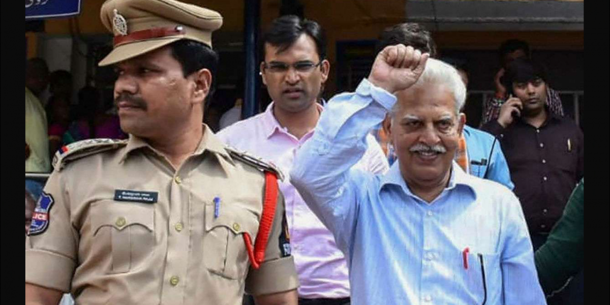 'He's Almost 80, How Will He Be in Jail?' V.V. Rao's Family Condemns Arrest