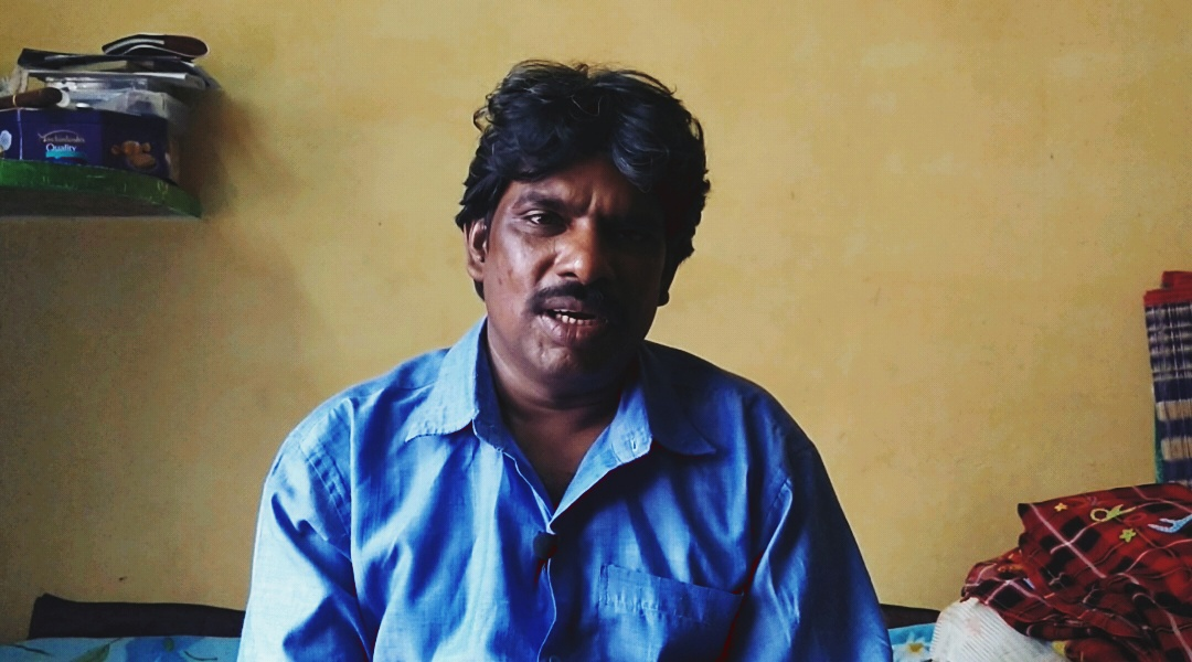 Dharmaraj explains his experience of 20 years as a manual scavenger.