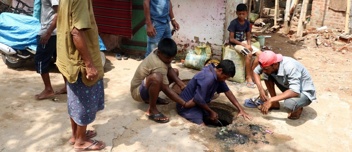 Modi Govt Has Not Released a Single Rupee for Rehabilitation of Manual Scavengers