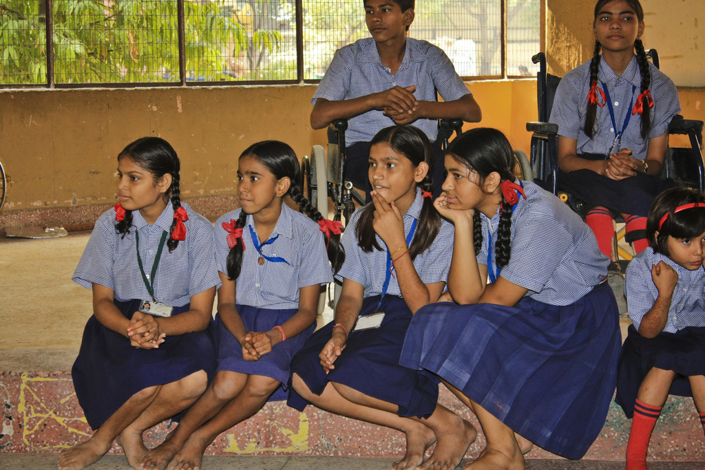 Vigyan Jyoti's aim is to arrange for girl students of classes 9, 10 and 11 meet women scientists. Representative image. Credit: mesterjagels/Flickr, CC BY 2.0