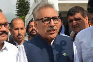 Arif Alvi Elected New President of Pakistan