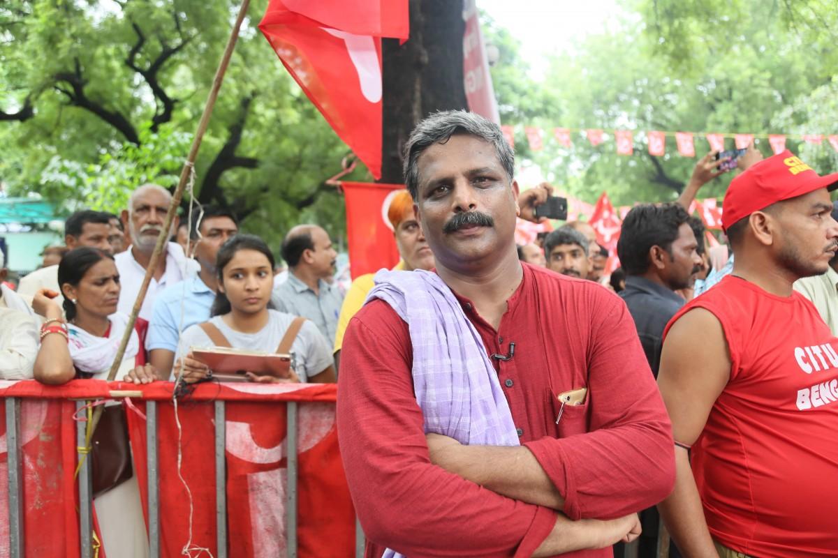 Vijoo Krishnan. Credit: Moniza Hafizee/The Wire