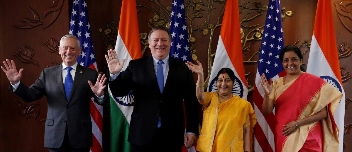 India, US Hold Two-Plus-Two Talks, to Expand Global Strategic Cooperation