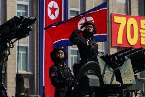 North Korea Holds Military Parade, No Long-Range Missiles on Display