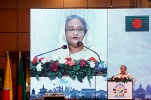 Bangladesh PM Calls for International Pressure on Myanmar to Ensure Rohingya Repatriation