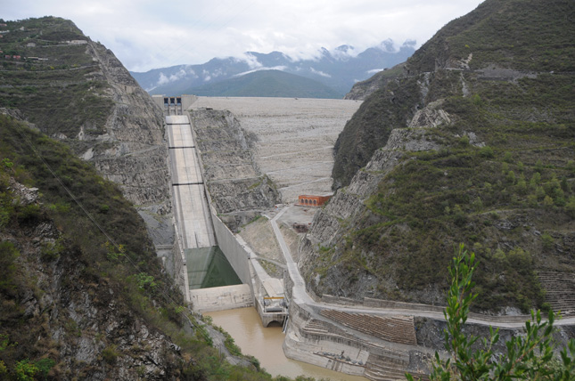 """Tehri dam ruined Ganga and Lakhwar will end Yamuna"" Credit: Flickr"