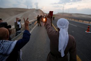 Israeli Forces Take Down Protest Huts at West Bank Bedouin Village