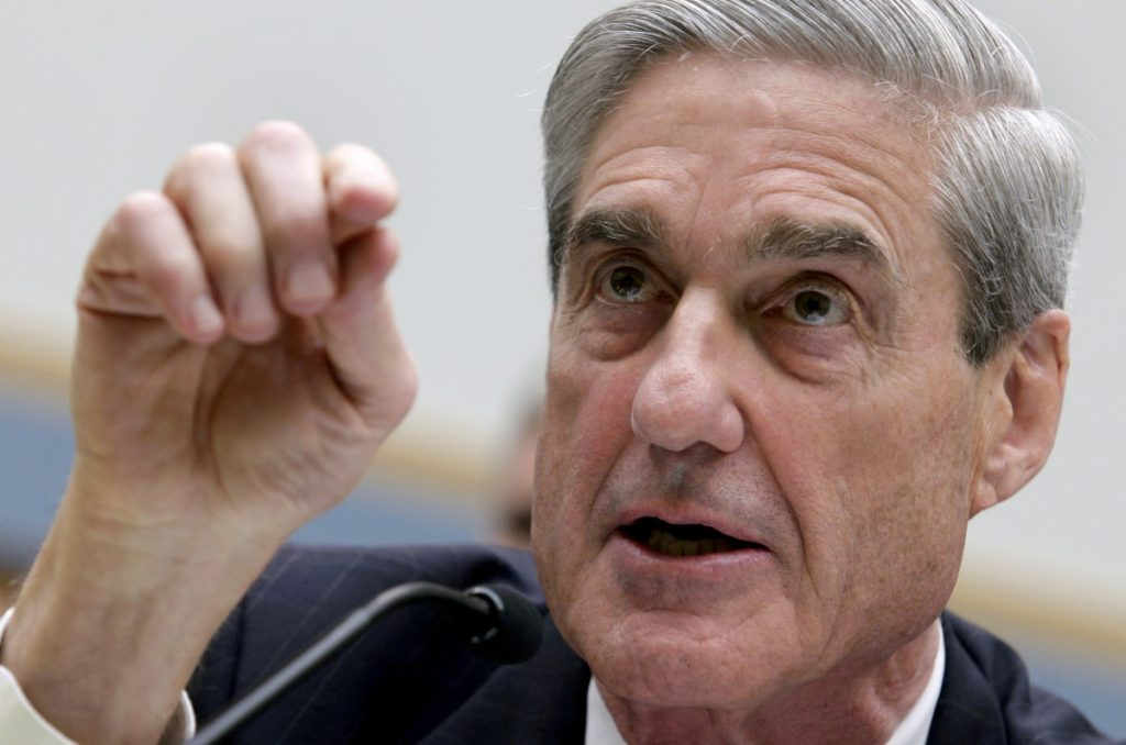 FILE PHOTO: Robert Mueller testifies before the House Judiciary Committee hearing on Federal Bureau of Investigation oversight on Capitol Hill in Washington, DC, US, June 13, 2013. Credit: Reuters/Yuri Gripas/File Photo