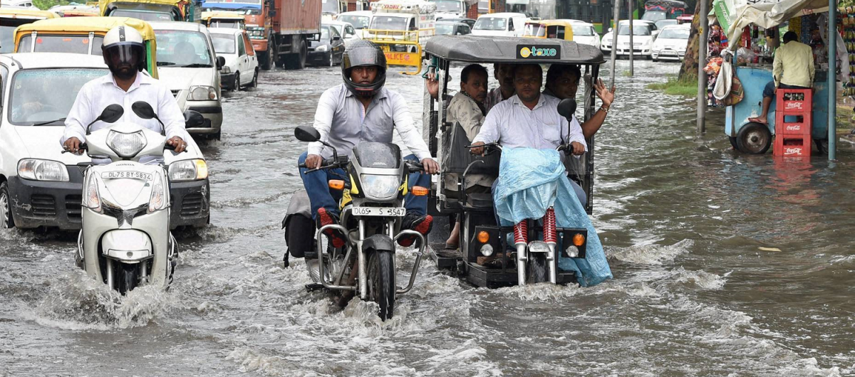 Why Do Delhi Roads Get Water-Logged?