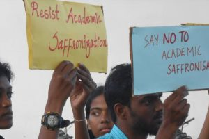 Told to Not Dissent Against Government, TN Students Allege Attempts to Saffronise Varsity