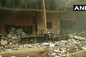 Fire in Bagree Market Still Raging