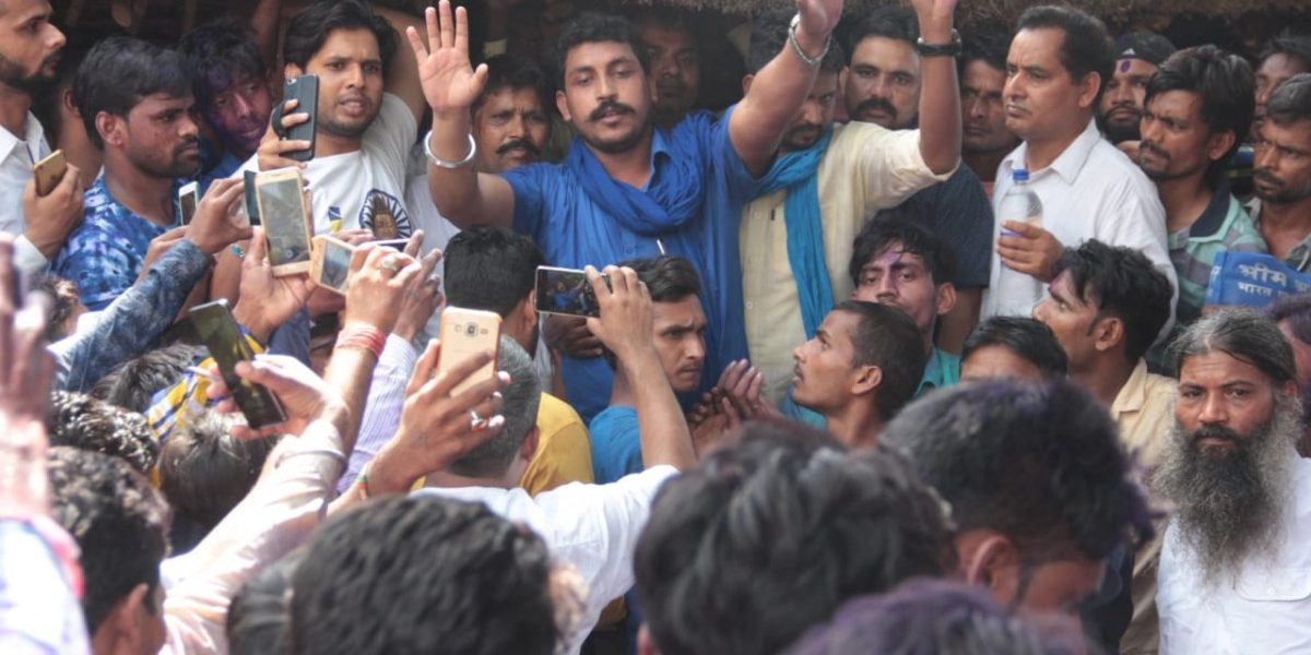 Bhim Army's Chandrashekhar Azad Says He Will Contest Against