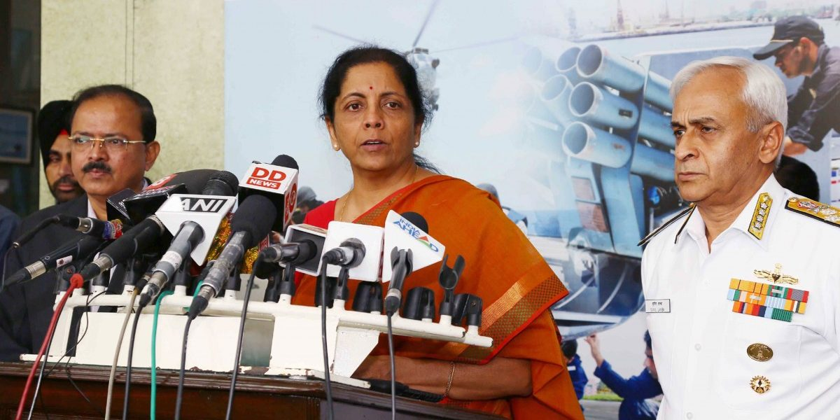 Defence Minister Nirmala Sitharaman Boasts of 'Cutting Off' Heads of Pak Soldiers