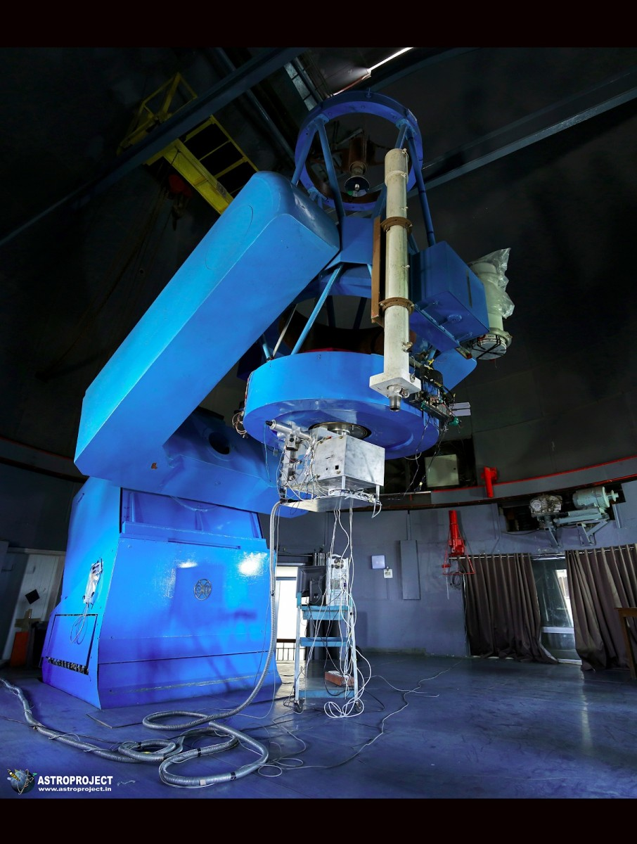 The PARAS spectrograph at the Mt Abu Observatory. Credit: PRL
