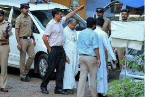 Bishop Franco Mulakkal Taken For Reconstruction of Crime Scene