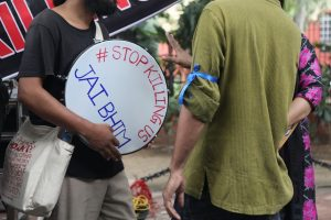 In Photos: Students, Activists, Victims' Families Protest Sewer Deaths