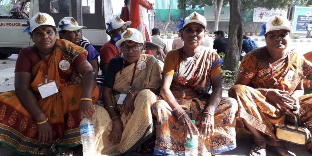 10,000 Elderly People From Across India Come Together to Demand a Universal Pension