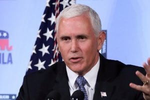 US Will Not Back Down from Chinese Intimidation in South China Sea: VP Mike Pence
