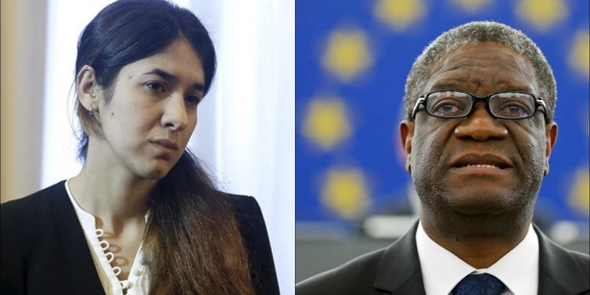 Denis Mukwege, Nadia Murad awarded 2018 Nobel Peace Prize