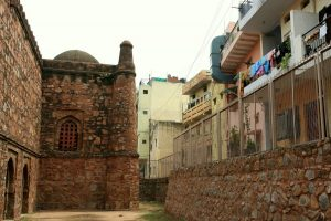 The Strange Tales of the Khirki Mosque
