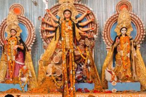 The Refugee History Behind Durga Puja Celebrations in Delhi's C.R. Park
