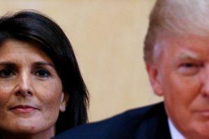 Nikki Haley Resigns as US Ambassador to the UN, Trump Accepts