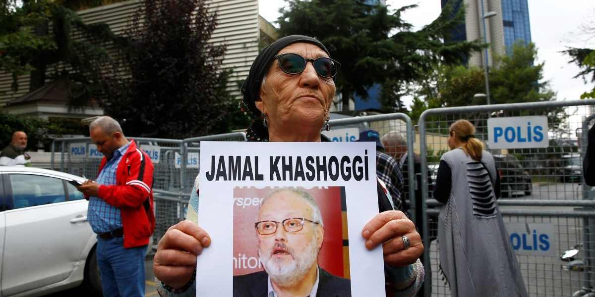 Why hasn't Jeff Bezos weighed in on Jamal Khashoggi?