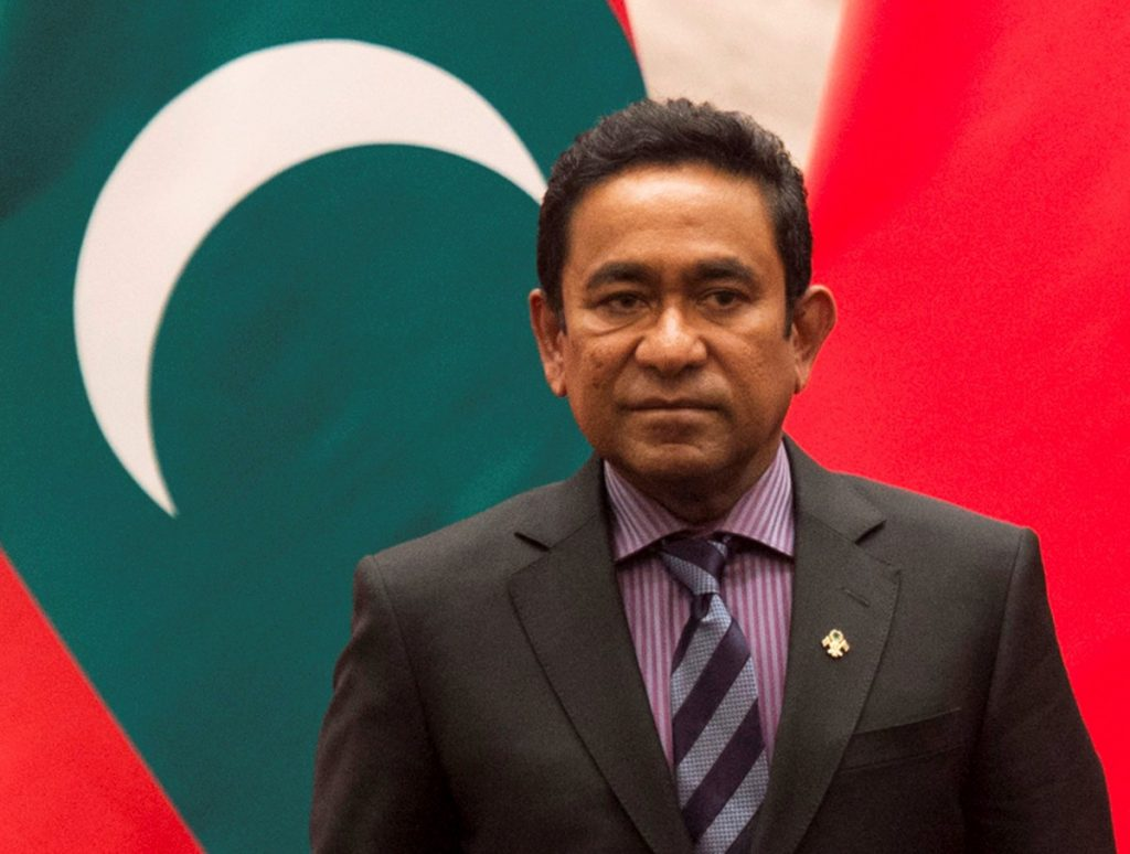 Maldives Election, Yameen