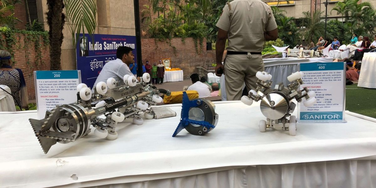 Technological Solutions, Including Robots, Aim to End Manual Scavenging
