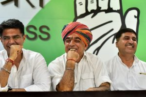 Congress Races Ahead in Rajasthan, 12 BJP Ministers Trailing