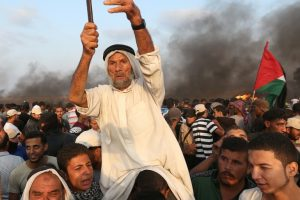 Israeli Forces Wound More Than 70 Palestinians at Gaza Border Protest