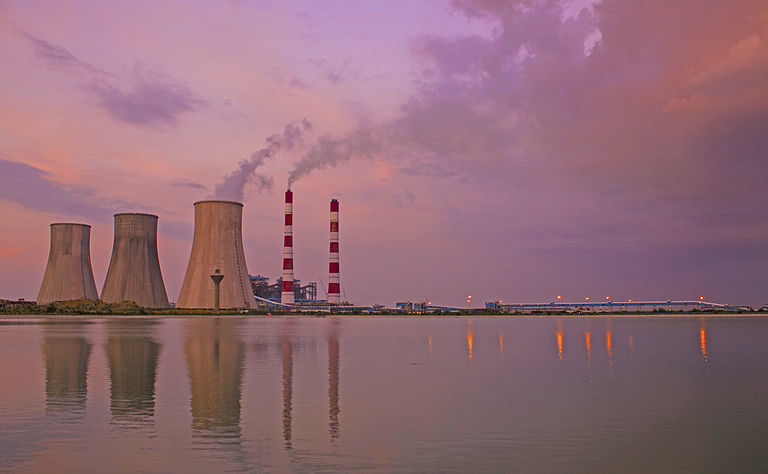 A thermal power plant in Haryana.