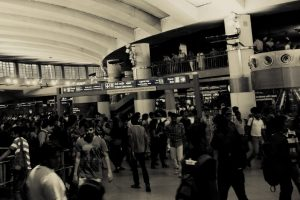 The Many Peculiarities of the Delhi Metro User