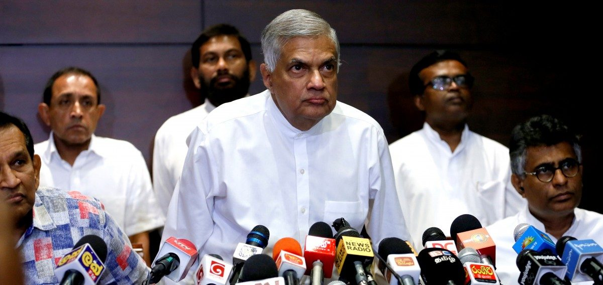 Tensions Escalate as Sri Lankan President Sirisena Suspends Parliament After Sacking PM