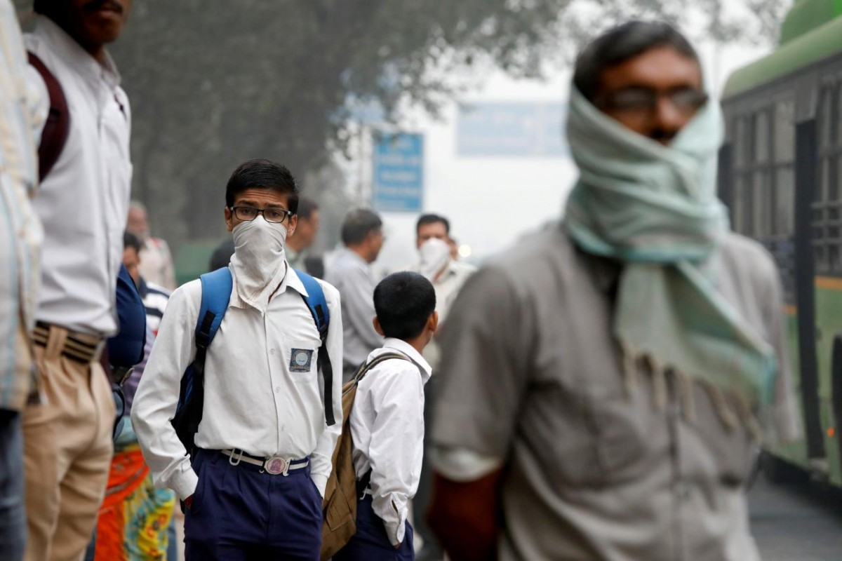 Air quality turns severe in Delhi. Credit: Reuters/File picture