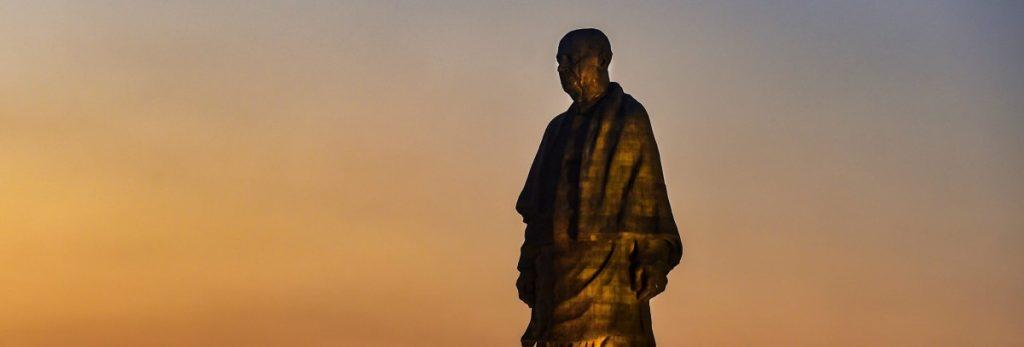 statue of unity, world's tallest statue, sardar patel, sardar patel statue