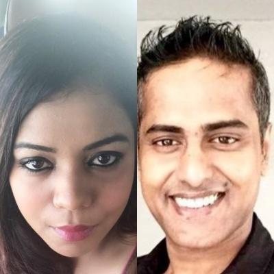 Rohini Singh and Ravi Nair