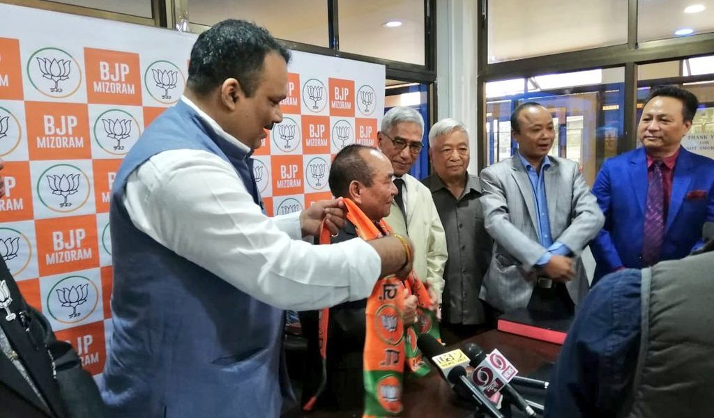 How a Rebel Congress MLA Ensured BJP's Maiden Entry Into Mizoram Assembly