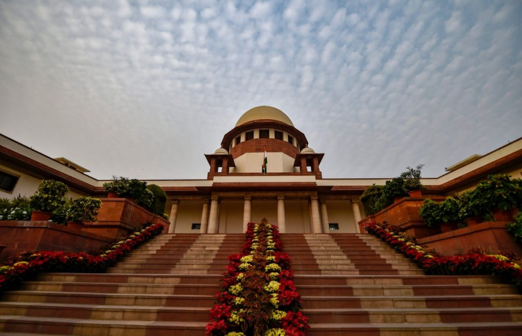 Supreme Court of India. Credit: PTI