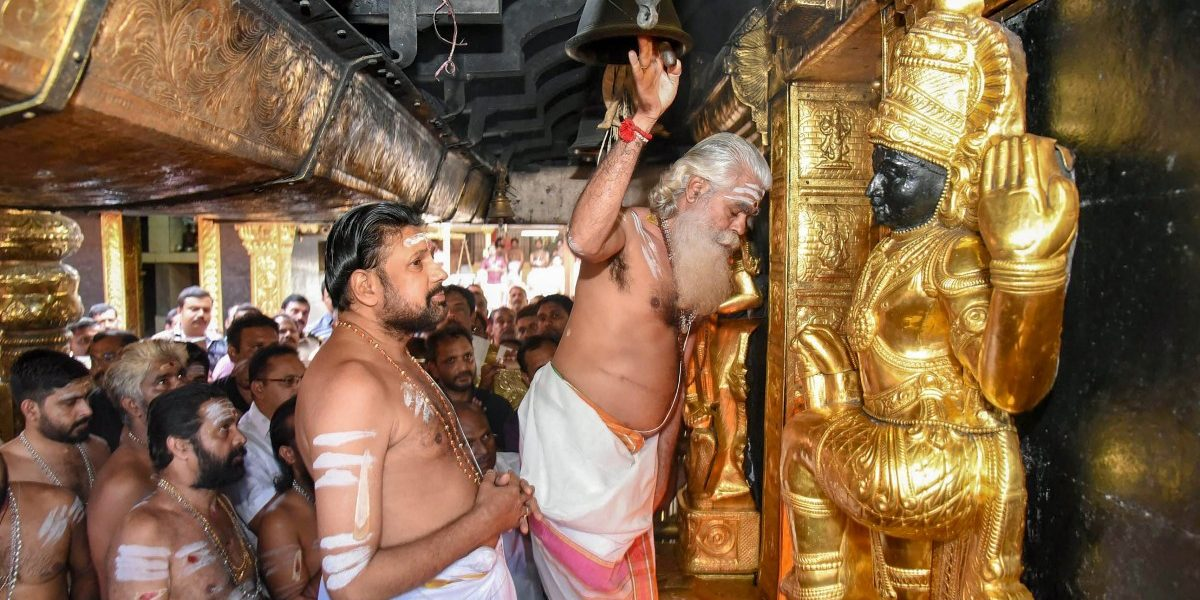 There's No Reason for Women to Celebrate their Entry to Sabarimala