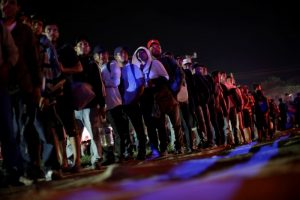 Migrants from Central America Resume March Towards US Border